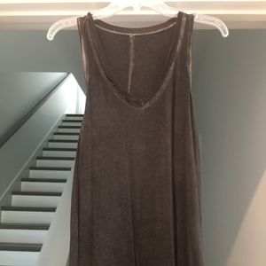 Tops - Gray Tank Top